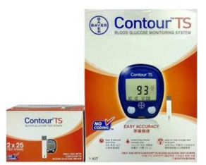 Bayer Contour TS Blood Glucometer